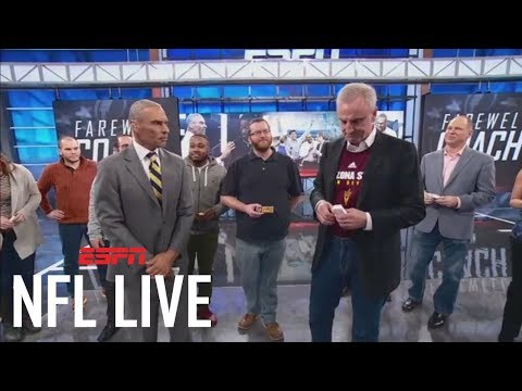 NFL Live says farewell to Herm Edwards | NFL Live | ESPN