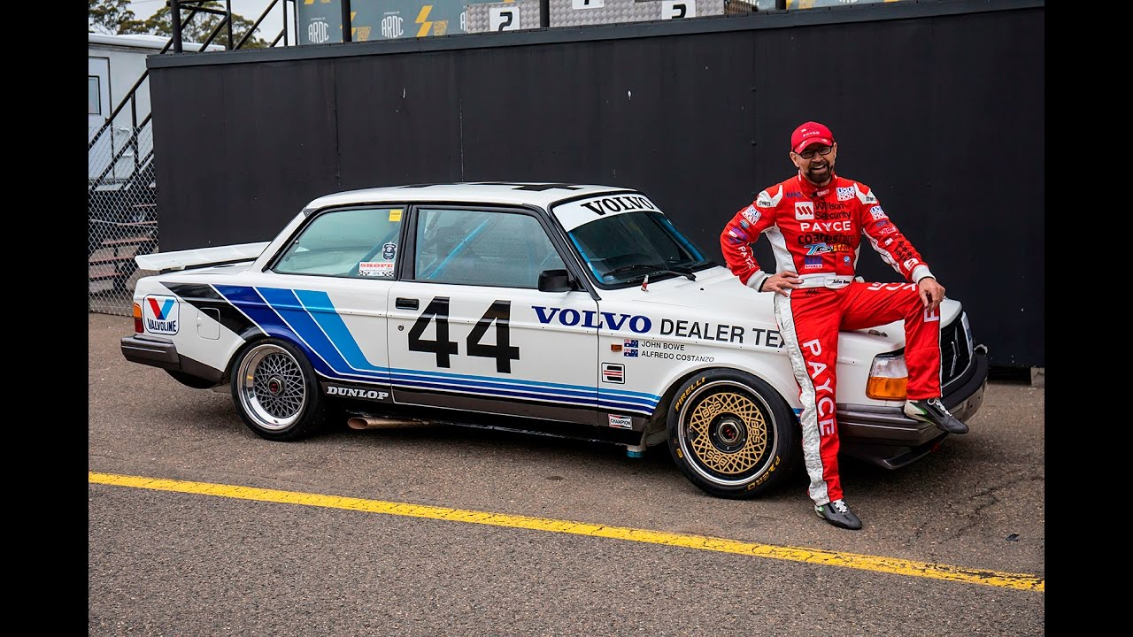 Group A Volvo reunited with John Bowe   Unique Cars Magazine - YouTube