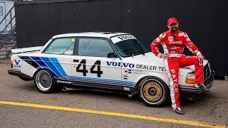 Group A Volvo reunited with John Bowe | Unique Cars Magazine