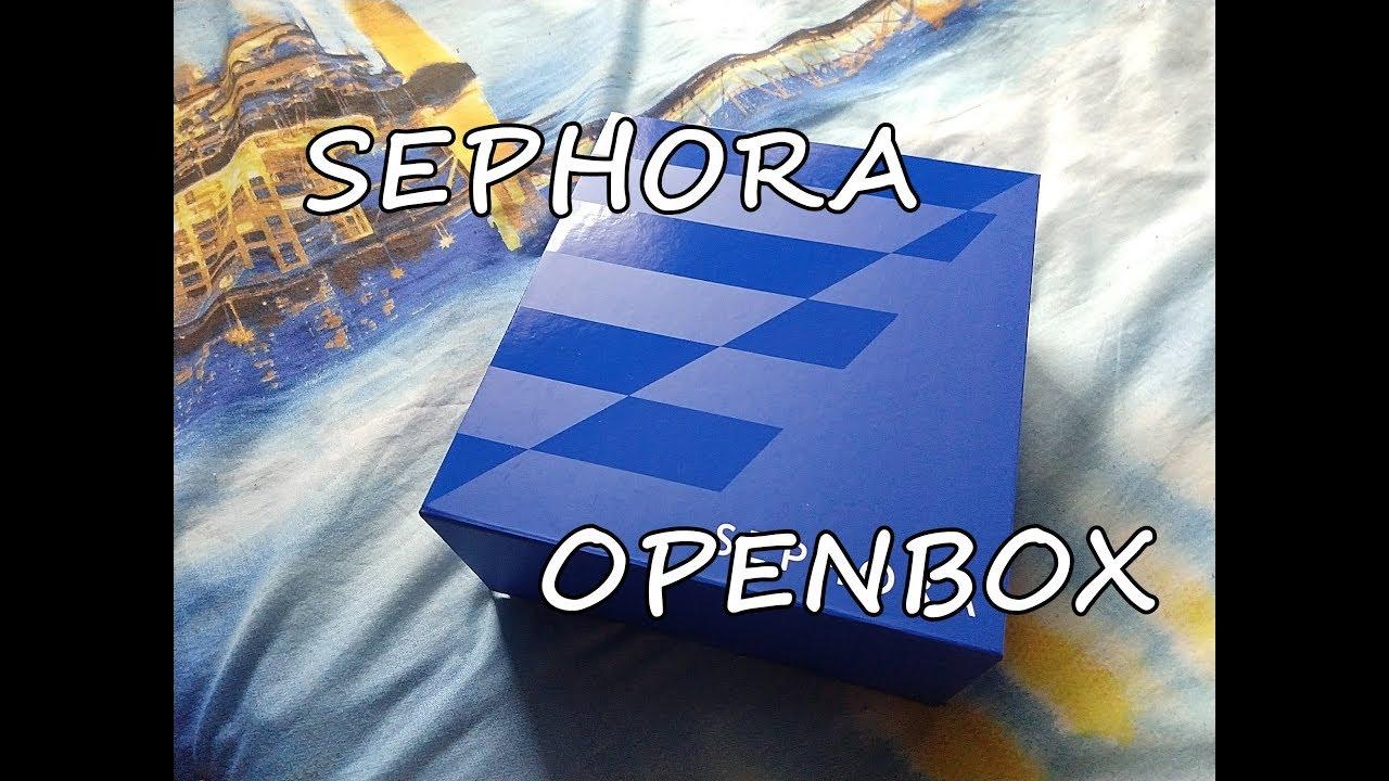 SEPHORA OPENBOX