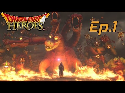 Let's Play Dragon Quest Heroes Ep.1 (English)