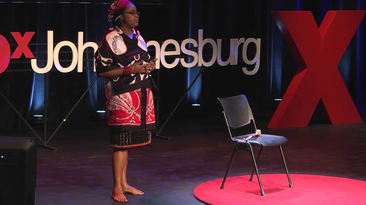 My life as a traditional healer in the 21st Century | Amanda Gcabashe |  TEDxJohannesburg