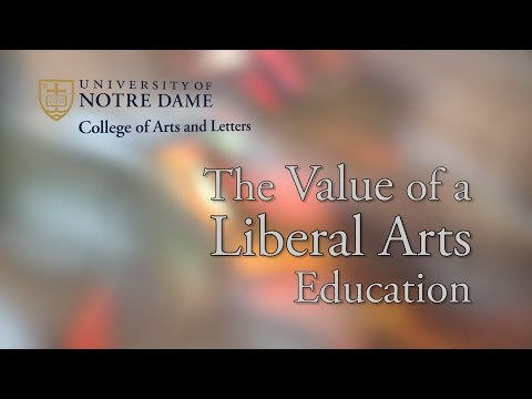 Arts and Letters Alumni: The Value of a Liberal Arts Education