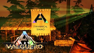 Building a Base of Operations onwyvern Valguero - Ark: Survival Evolved (Part 3)