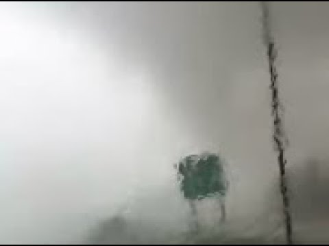 Tornado Knocks Car Off Road in Arkansas, Couple Says Seatbelts Saved Them