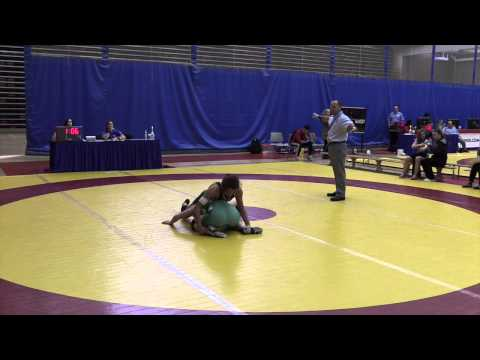 2015 Canada West Championships: 59 kg Lisa Brise vs. Indhyra Linares
