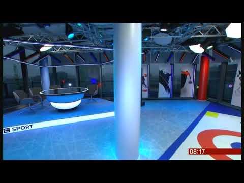 BBC Winter Olympic  2018 - UK Studio