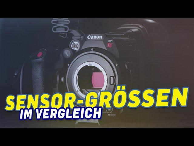 Sensorgrössen von Videokameras im Vergleich -  welche passt am besten zu dir?