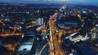 Ankara Çukurambar Gece Havadan Çekimi Ankara Drone