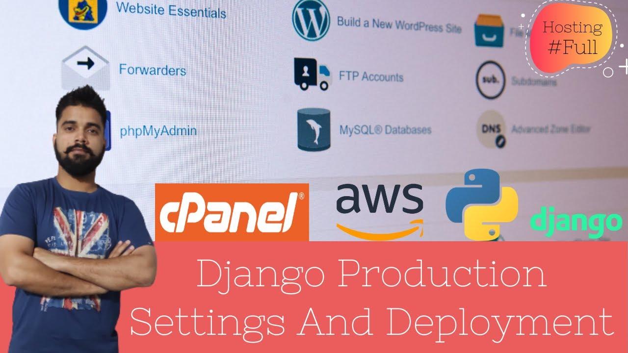 Django Production Settings And Deployment - #djangoecommerce