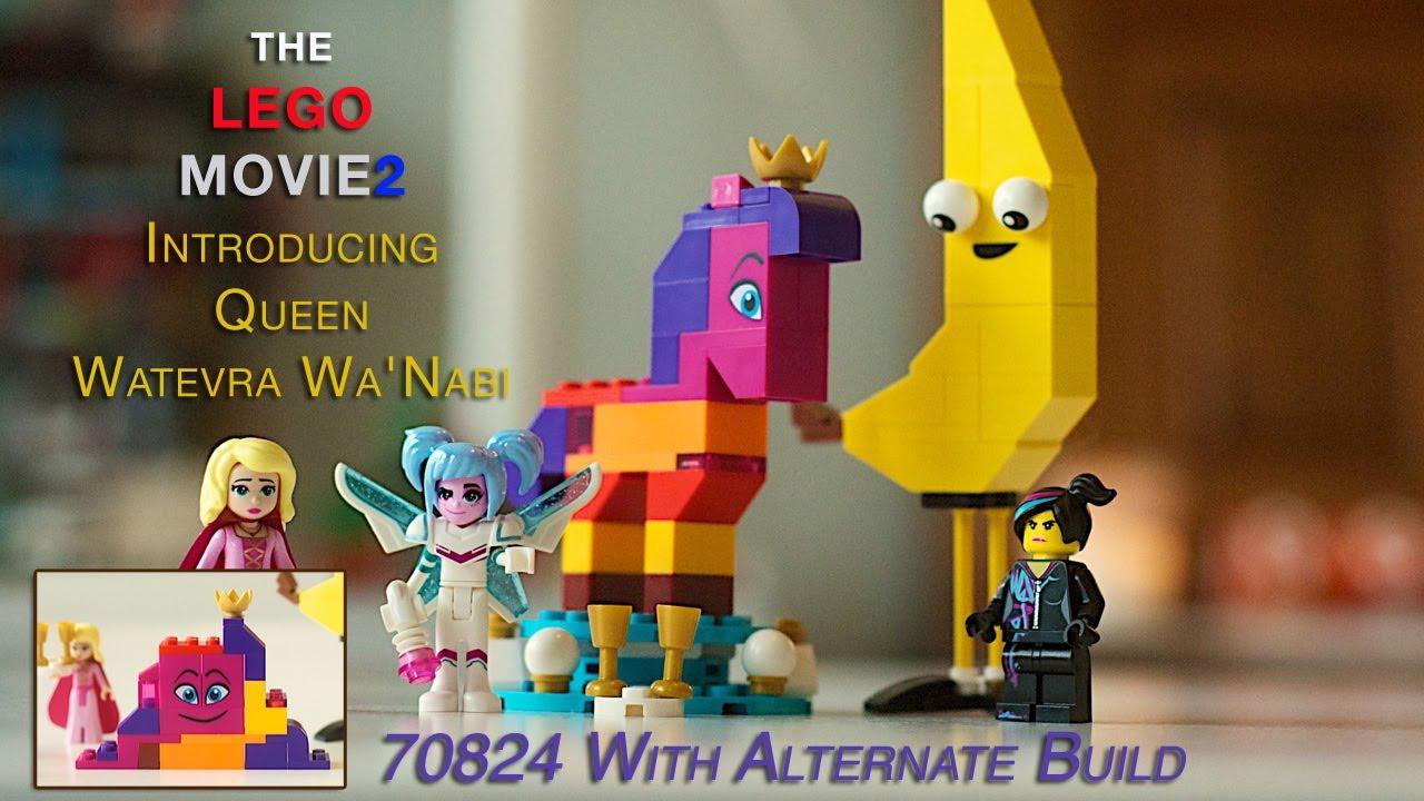 Wyldstyle Lego Minifigure Lucy Lego Movie 2 Set 70824 unassembled