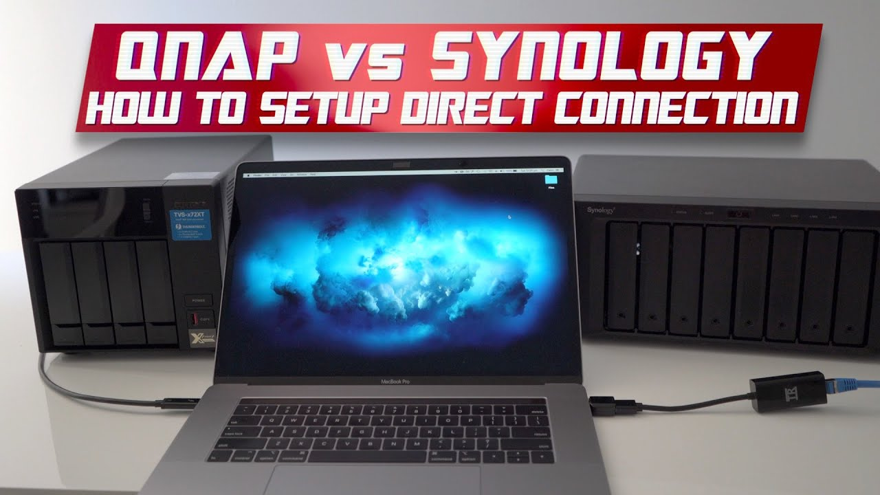 How to Connect a Synology NAS to a QNAP NAS | Directly with SMB