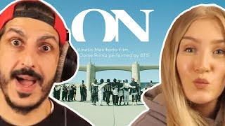 Gambar cover Producer REACTS to BTS (방탄소년단) 'ON' Kinetic Manifesto Film : Come Prima