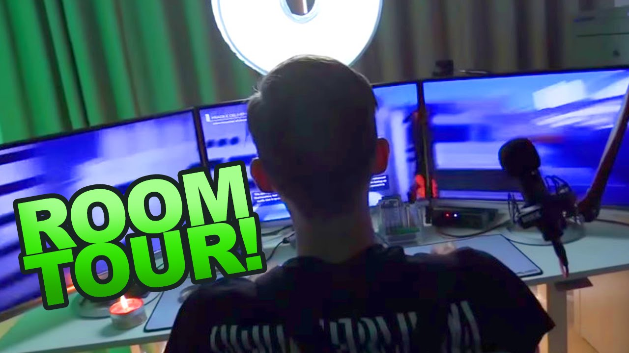 b9e5eb03 PewDiePie's Camera, Desk Setup & Gear Behind all that Money | Man of Many