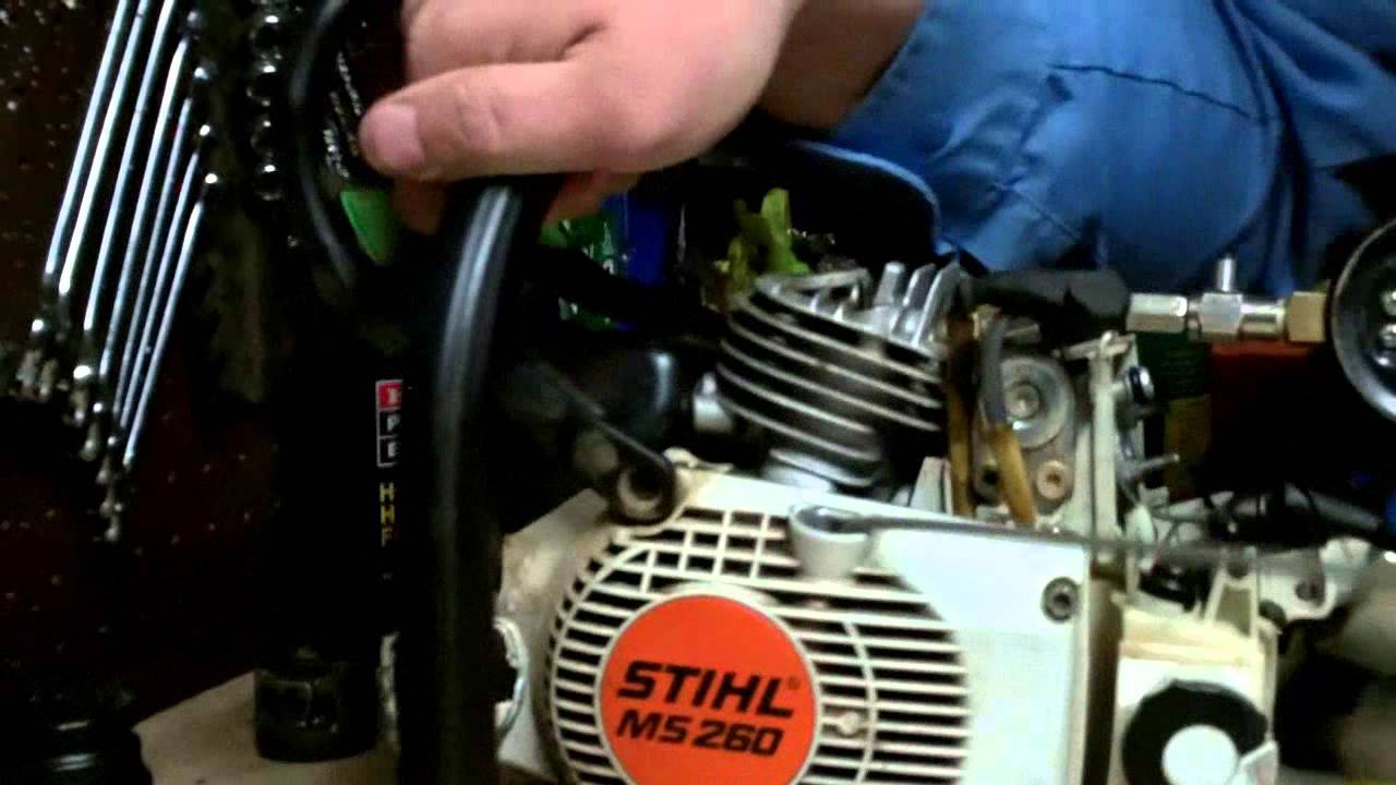 Stihl Chainsaw Compression Readings On A New Or Rebuilt Engine Ms260 026 Pro You