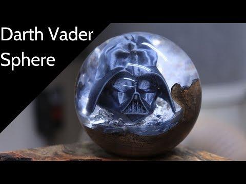 Darth Vader Resin Sphere