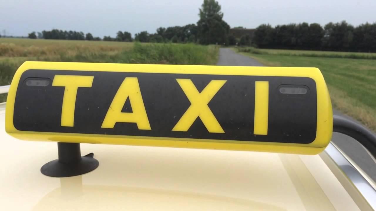 AlarmDas EsWenn Bedeutet Ein Schild Rot Blinkt Taxi PkiuOXZ