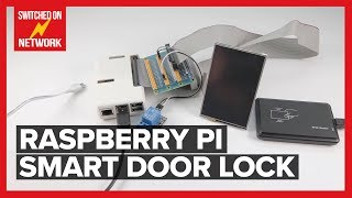 Build a Raspberry Pi Smart Door Lock Security System with Three Factor Authentication!