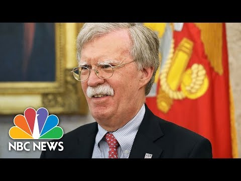 National Security Adviser John Bolton Speaks At The Federalist Society | NBC News
