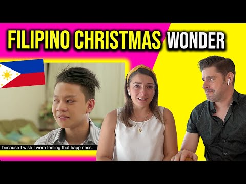 Foreigners CRY to FILIPINO CHRISTMAS Surprise!