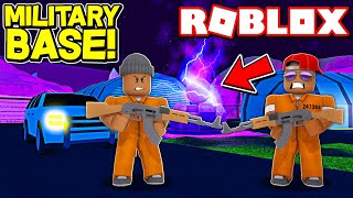 *NEW* ROBLOX JAILBREAK MILITARY BASE UPDATE!! (Roblox Livestream)