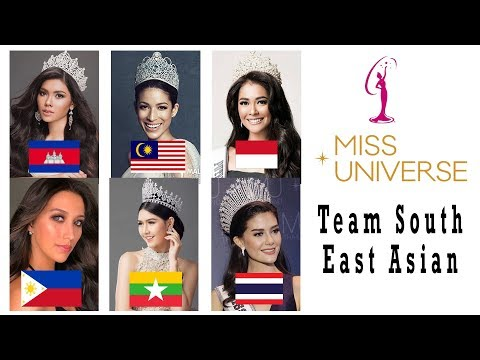 Team Southeast Asian Miss Universe 2017-2018