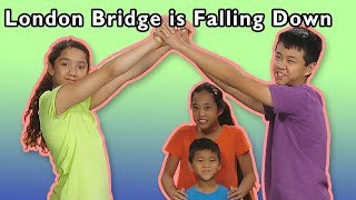 London Bridge is Falling Down + More | Mother Goose Club Playhouse Songs & Rhymes