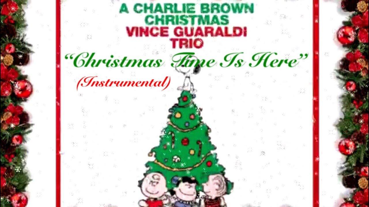 Vince Guaraldi Christmas.Christmas Time Is Here Instrumental Vince Guaraldi Trio