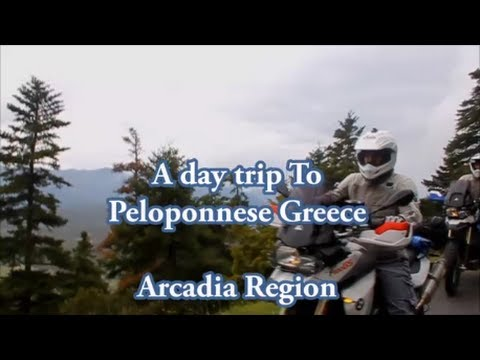 Moto tour Peloponnese Arcadia region - part1