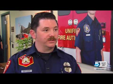 Unified Fire Authority uses high-tech mannequins to certify in lifesaving techniques