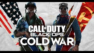 My FIRST GAMES on BLACK OPS COLD WAR...(INSANE) 4K