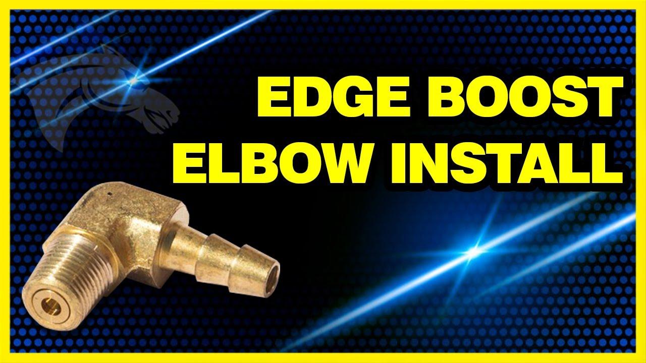 Edge Boost Elbow Install Dodge Cummins 6000019 Youtube