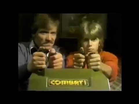 Coleco's Telstar 'Combat!' Video Game Commercial 1977