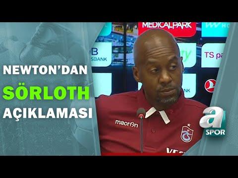 Trabzonspor 1 - 3 Beşiktaş Eddie Newton Maç Sonu Basın Toplantısı Düzenledi / A Spor