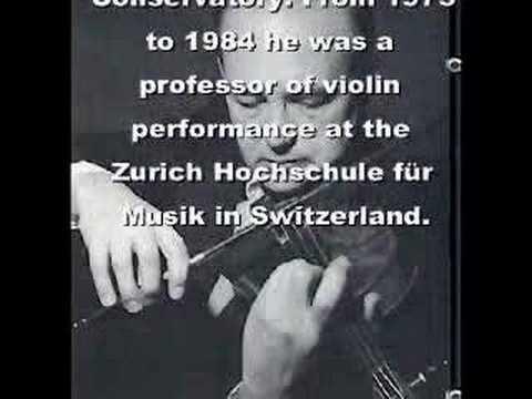 Ricardo Odnoposoff violin Paganini Campanella vc 2 (not4)