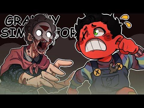 ZOMBIE GRANNY'S REVENGE! | Granny Simulator *NEW* Mode (w/ H2O Delirious)