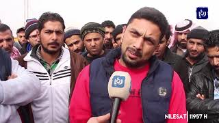سائقو شاحنات في محافظة المفرق يطالبون بتعديل أجور النقل (13/1/2020)