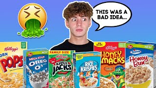 Try ALL NEW WEIRD CEREALS OF 2020 | Taste Test | Mikey Tua