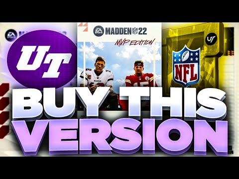 BEST VERSION OF MADDEN 22 TO BUY?!   ANALYZING THE STANDARD, MVP AND DYNASTY EDITIONS MADDEN 22!