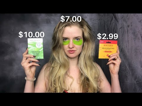 IS IT WORTH IT?: EYE MASK EDITION (BURT'S BEES v. 100% PURE v. JUICE BEAUTY)