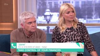 I'm £12,000 in Debt  Help!   This Morning