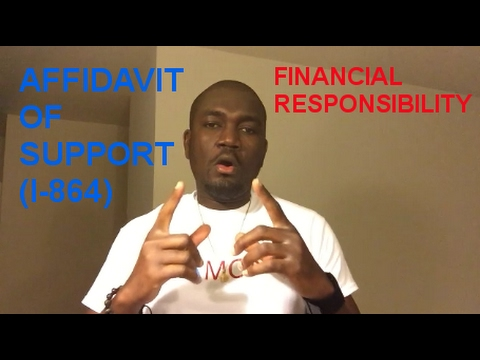 HOW LONG IS A SPONSOR RESPONSIBLE FOR AN IMMIGRANT IN USA