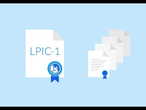 LPIC-1 Certification - Linux Training - YouTube