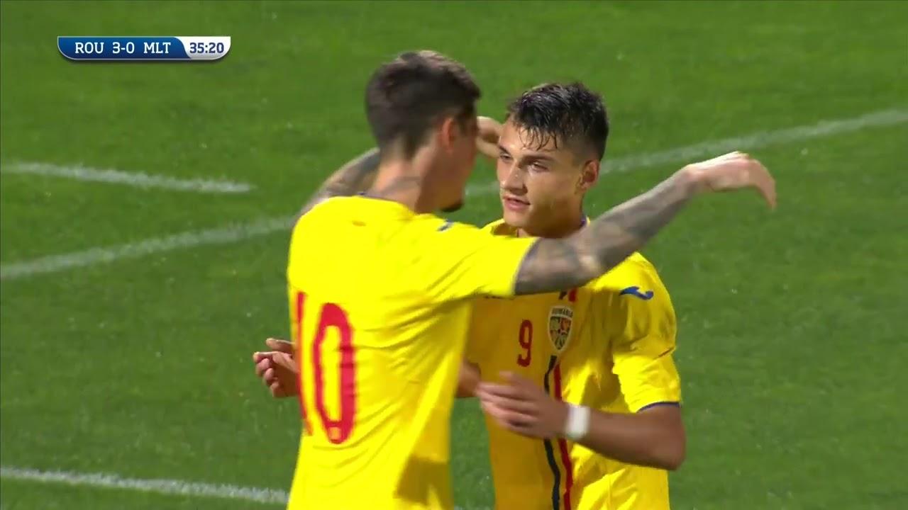 Romania - Malta 4-1 | Rezumat U21