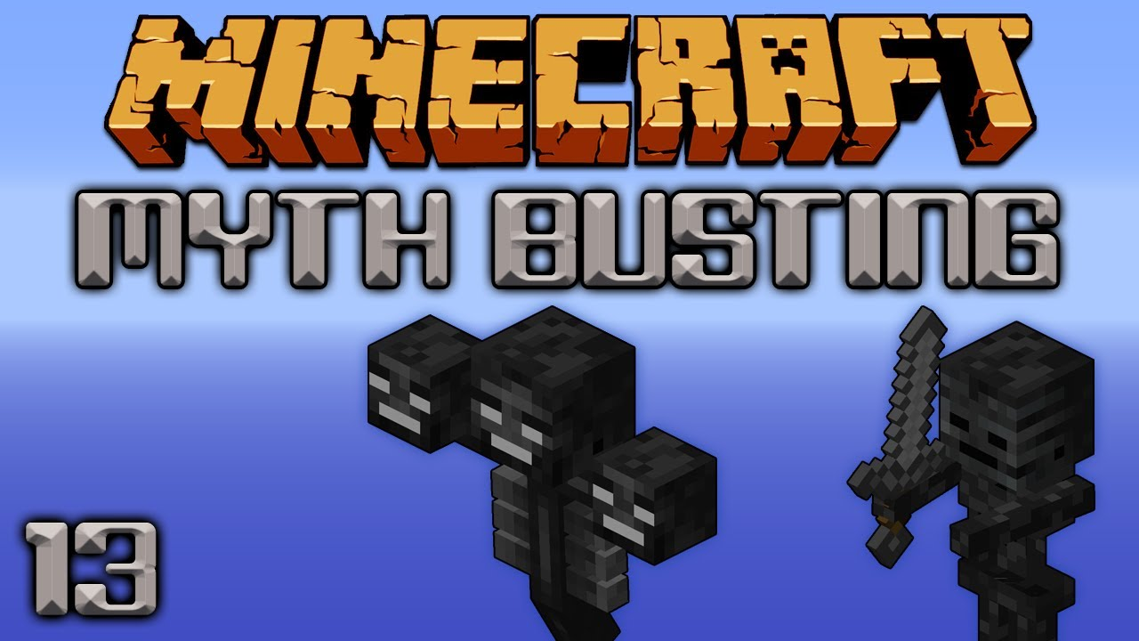Looting On Wither Skulls & Nether Stars [Minecraft Myth Busting 13]