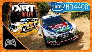 DiRT Rally Gameplay Intel HD Graphics #53