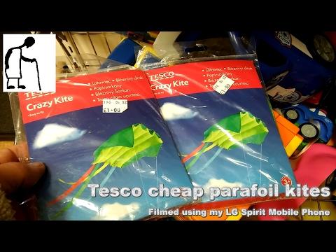 Charity Shop Short - Tesco Cheap Parafoil Kites