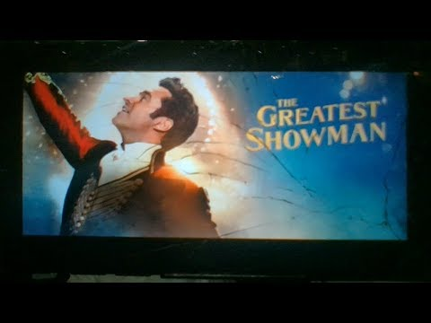Big Thanks To The Greatest Showman