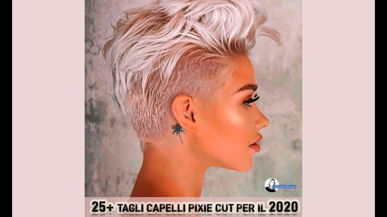 Tagli capelli pixie cut 2020 - YouTube