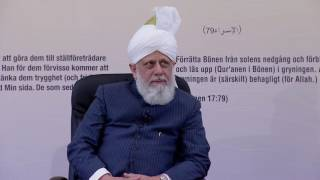 Afal and Khuddam Class Sweden - 13th May 2016 (Urdu)